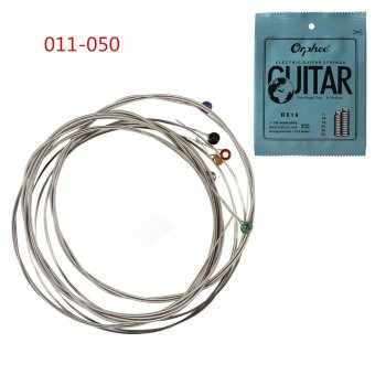 6pcs/set Electric Guitar String 011-050 Nickel Alloy StringsMusical Instruments - intl