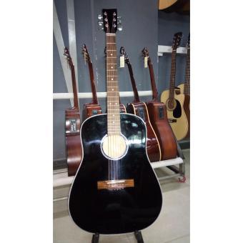 Acoustic guitar DVE85D black - màu đen + Tặng kèm phụ kiện