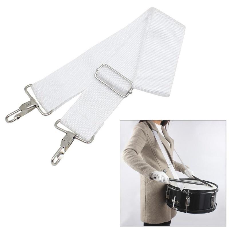 Adjustable Nylon Parade Marching Snare Drum Sling Strap Belt Musical Instrument Accessory - intl