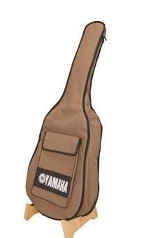Bao đàn guitar Yamaha 3 lớp( màu vàng)