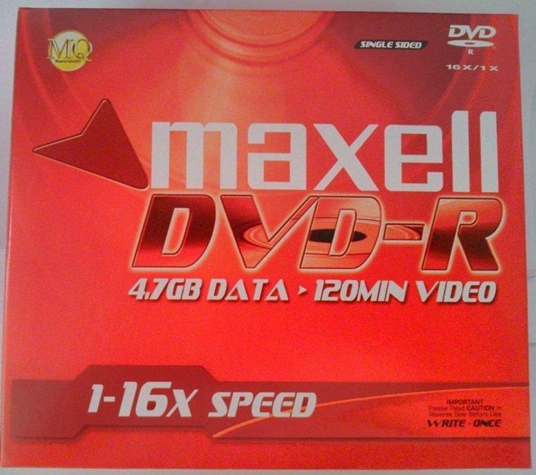Bộ 10 Đĩa trắng Maxell DVD-HR
