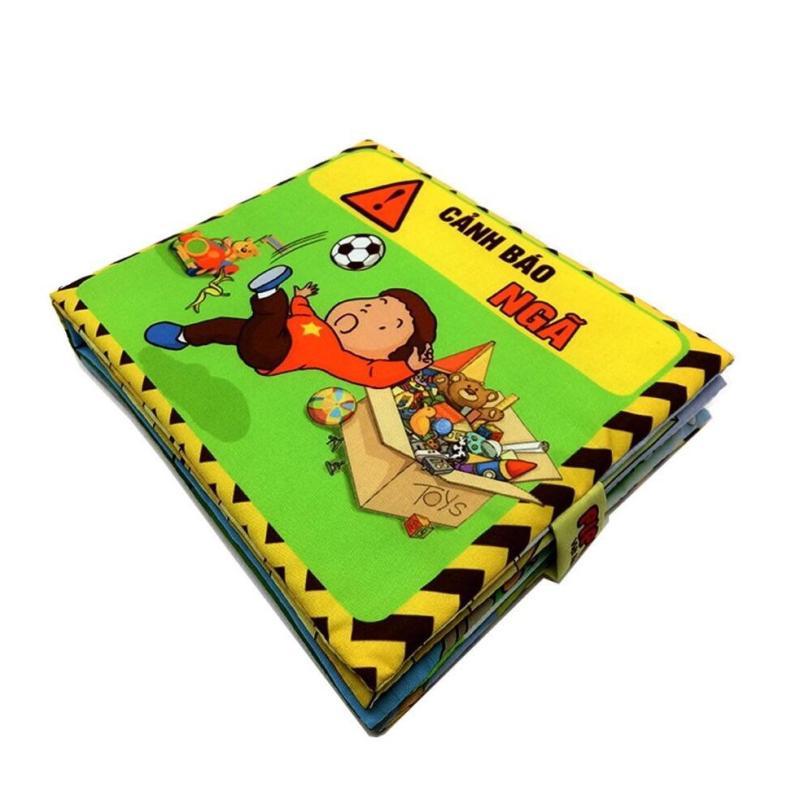 Mua Bộ 3 sách vải Pipo cảnh báo cho bé (Bỏng + ngã +nguy hiểm)