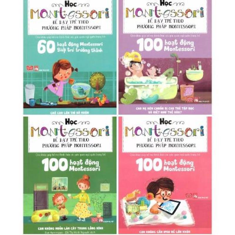 Mua Bộ 4 Cuốn Học Montessori Để Dạy Trẻ Theo Phương Pháp Montessori