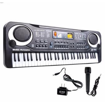 Bộ đàn Piano 61 phím có Micro dành cho trẻ em -AL