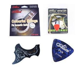 Bộ dây guitar màu Alice AW435 + Capo Alice A007K/GD + Miếng dán chống xước hoa van + Phím gảy - 8031334 , AL901MEAA1O32XVNAMZ-2763174 , 224_AL901MEAA1O32XVNAMZ-2763174 , 390000 , Bo-day-guitar-mau-Alice-AW435-Capo-Alice-A007K-GD-Mieng-dan-chong-xuoc-hoa-van-Phim-gay-224_AL901MEAA1O32XVNAMZ-2763174 , lazada.vn , Bộ dây guitar màu Alice AW435 + C