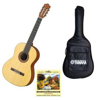 Bộ Guitar Yamaha Classic C40M + Bao đàn Yamaha và Dây Alice Classic A106