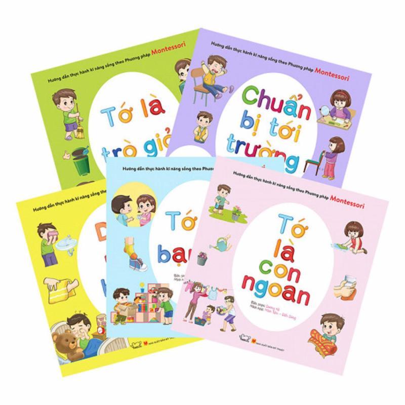 Mua Bộ sách hướng dẫn thực hành kỹ năng sống theo phương pháp Montessori