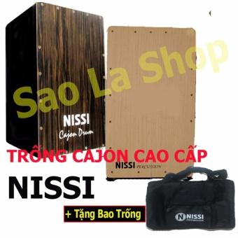 B��� Tr���ng Cajon Nissi Cao C���p - C�� V��t Ch���nh Tem + T���ng K��m BaoTr���ng