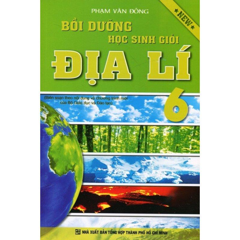 Mua Bồi Dưỡng Học Sinh Giỏi Địa Lí 6 - Phạm Văn Đông