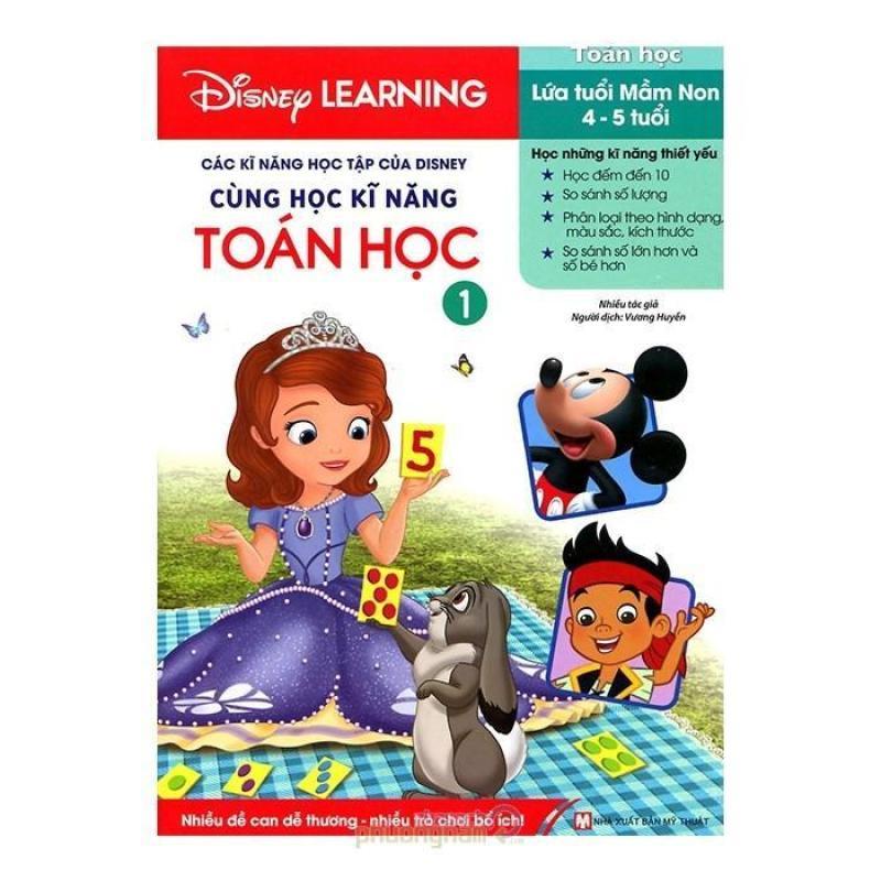 Mua Các Kĩ Năng Học Tập Của Disney - Cùng Học Kĩ Năng Toán Học 1