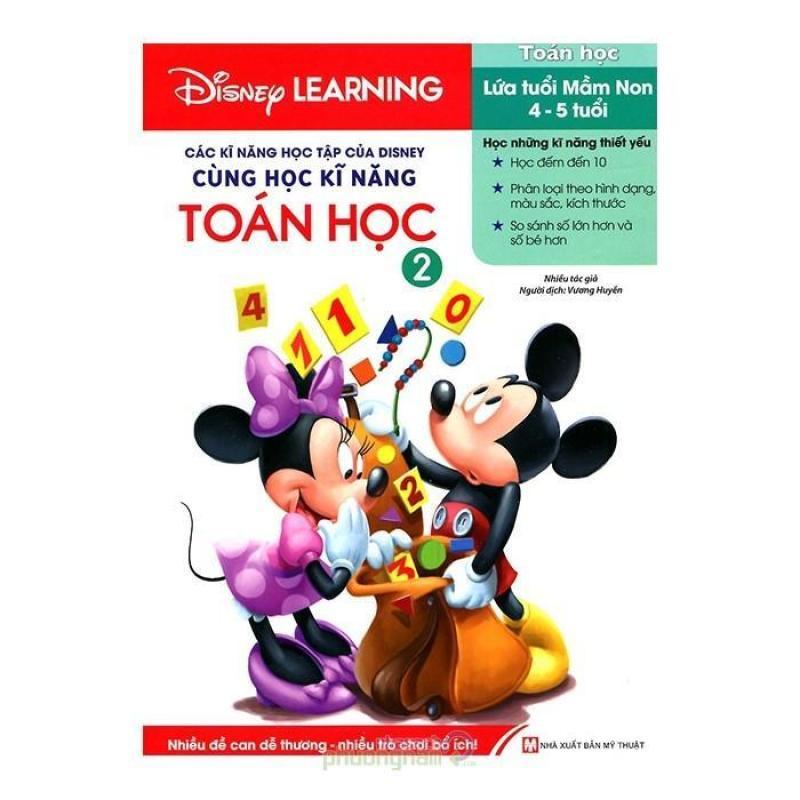 Mua Các Kĩ Năng Học Tập Của Disney - Cùng Học Kĩ Năng Toán Học 2