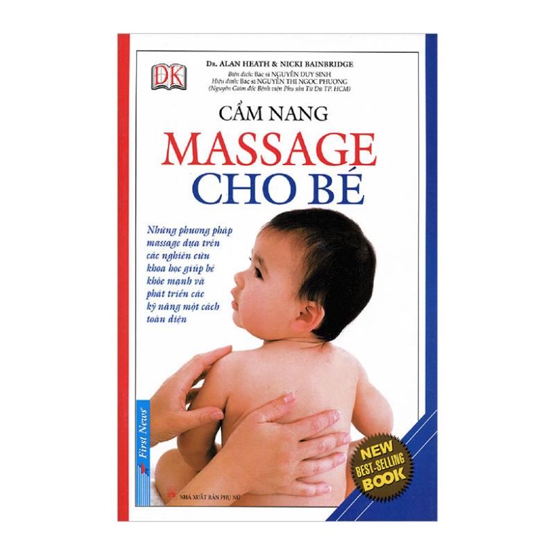 Mua Cẩm Nang Massage Cho Bé - Tái Bản