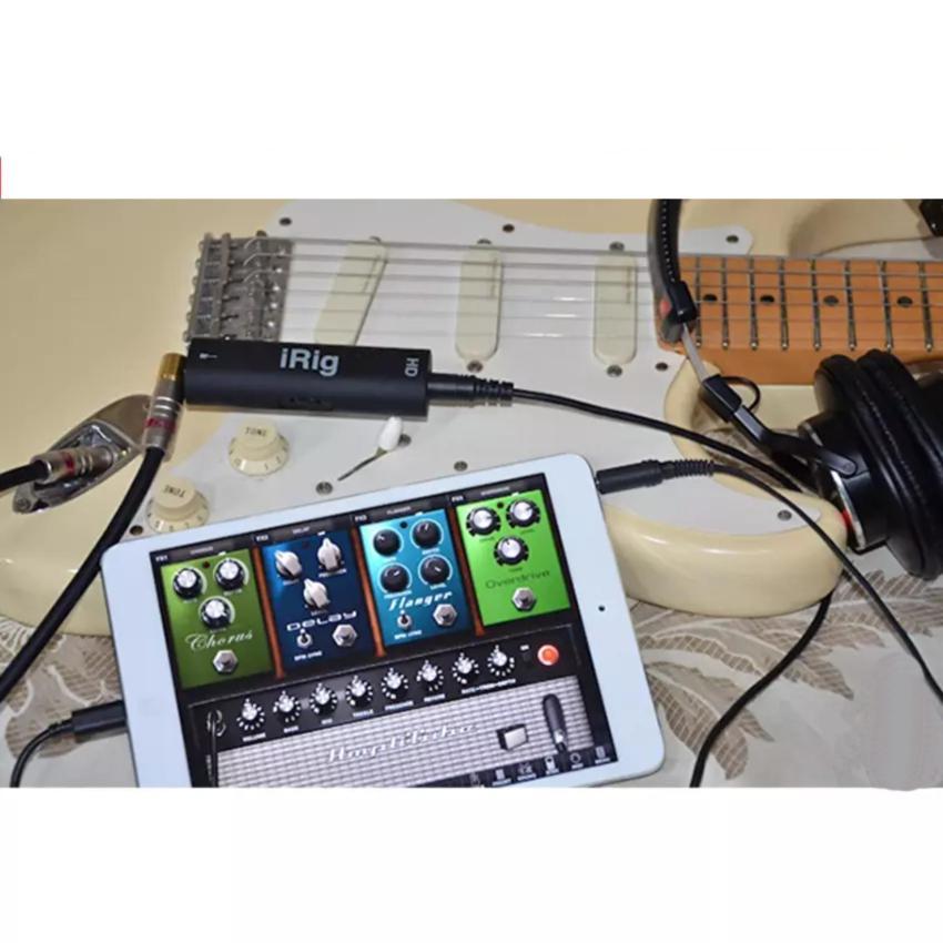 Cáp kết nối đàn guitar với điện thoại iRig AmpliTube
