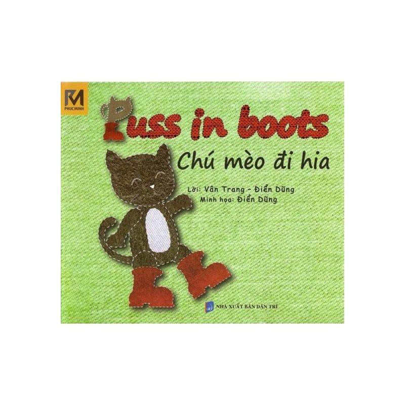 Mua Chú Mèo Đi Hia - Puss In Boots (Song Ngữ Việt - Anh)