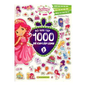 Cô Bé Bánh Dâu - Bộ Sưu Tập 1000 Đề Can Lấp Lánh (Tập 2) - ChildrenFun