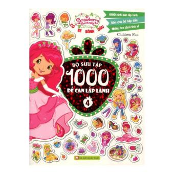 Cô Bé Bánh Dâu - Bộ Sưu Tập 1000 Đề Can Lấp Lánh (Tập 4) - ChildrenFun
