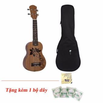 Combo đàn ukulele + Bao đàn, tặng bộ dây đàn