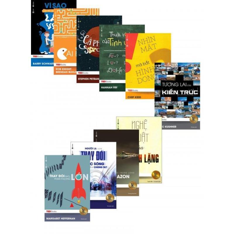 Mua Combo TedBooks (Bộ 10 Cuốn) - Nhiều tác giả,Nhiều dịch giả