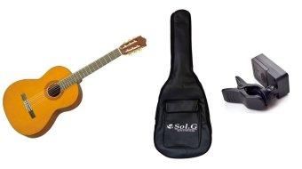 Đàn guitar Yamaha C70 + bao đàn guitar Yamaha 03 lớp + Máy lên dâyJT10