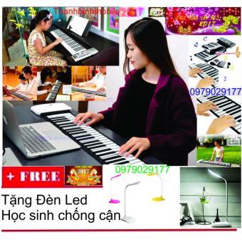 Đàn piano điện tử bàn phím cuộn dẻo 49 keys + Đèn Led Chống Cận - 8553555 , OE680MEAA29RI7VNAMZ-3886342 , 224_OE680MEAA29RI7VNAMZ-3886342 , 1100000 , Dan-piano-dien-tu-ban-phim-cuon-deo-49-keys-Den-Led-Chong-Can-224_OE680MEAA29RI7VNAMZ-3886342 , lazada.vn , Đàn piano điện tử bàn phím cuộn dẻo 49 keys + Đèn Led Chốn