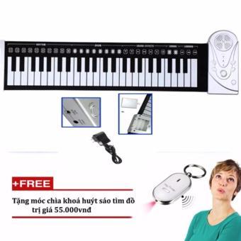 Đàn piano điện tử phím cuộn dẻo 49 keys tặng kèm móc khóa huýt sáo - 8554804 , OE680MEAA3PHPUVNAMZ-6603359 , 224_OE680MEAA3PHPUVNAMZ-6603359 , 470000 , Dan-piano-dien-tu-phim-cuon-deo-49-keys-tang-kem-moc-khoa-huyt-sao-224_OE680MEAA3PHPUVNAMZ-6603359 , lazada.vn , Đàn piano điện tử phím cuộn dẻo 49 keys tặng kèm móc k