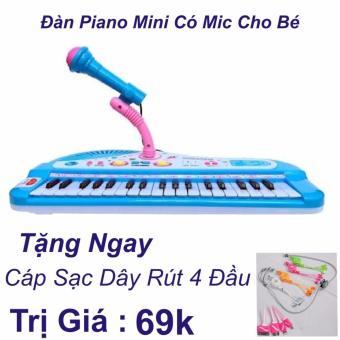 Đàn Piano Mini Có Míc Cho Bé Chất Lượng Âm Thanh Hay Loại Mới 2017+ Cáp Sạc Dây Rút 4 Đầu Trị Giá 69k - 8557185 , OE680MEAA6Y1BZVNAMZ-12747262 , 224_OE680MEAA6Y1BZVNAMZ-12747262 , 200000 , Dan-Piano-Mini-Co-Mic-Cho-Be-Chat-Luong-Am-Thanh-Hay-Loai-Moi-2017-Cap-Sac-Day-Rut-4-Dau-Tri-Gia-69k-224_OE680MEAA6Y1BZVNAMZ-12747262 , lazada.vn , Đàn Piano Mini Có