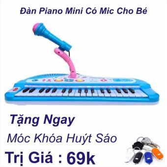 Đàn Piano Mini Có Míc Cho Bé Chất Lượng Âm Thanh Hay Loại Mới 2017+ Móc Khóa Huýt Sáo Trị Giá 69k