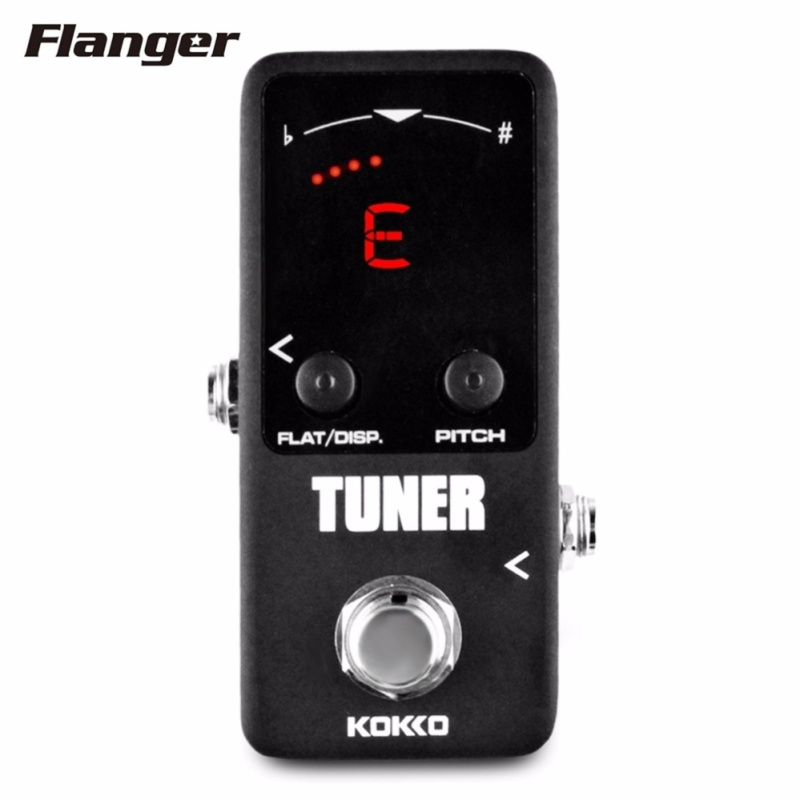 Flanger FTN2 LED Screen Mini Pedal Tuner Guitar Effect Pedals High Quality Guitar Parts & Guitarra Accessories - intl
