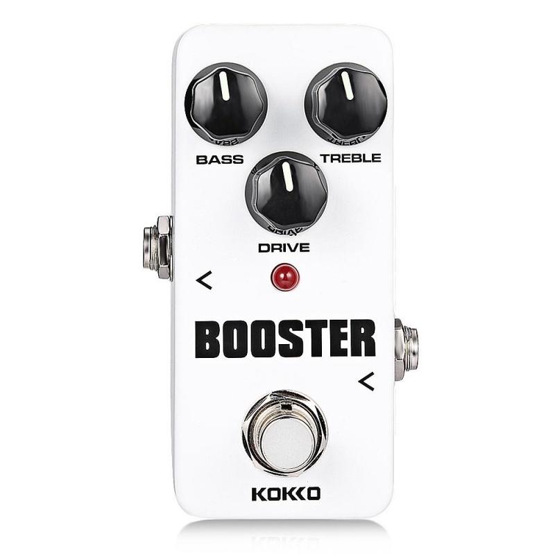 Flanger KOKKO Booster Pure Analog Circuit True Bypass Design Mini Guitar Effect Pedal (White) - intl