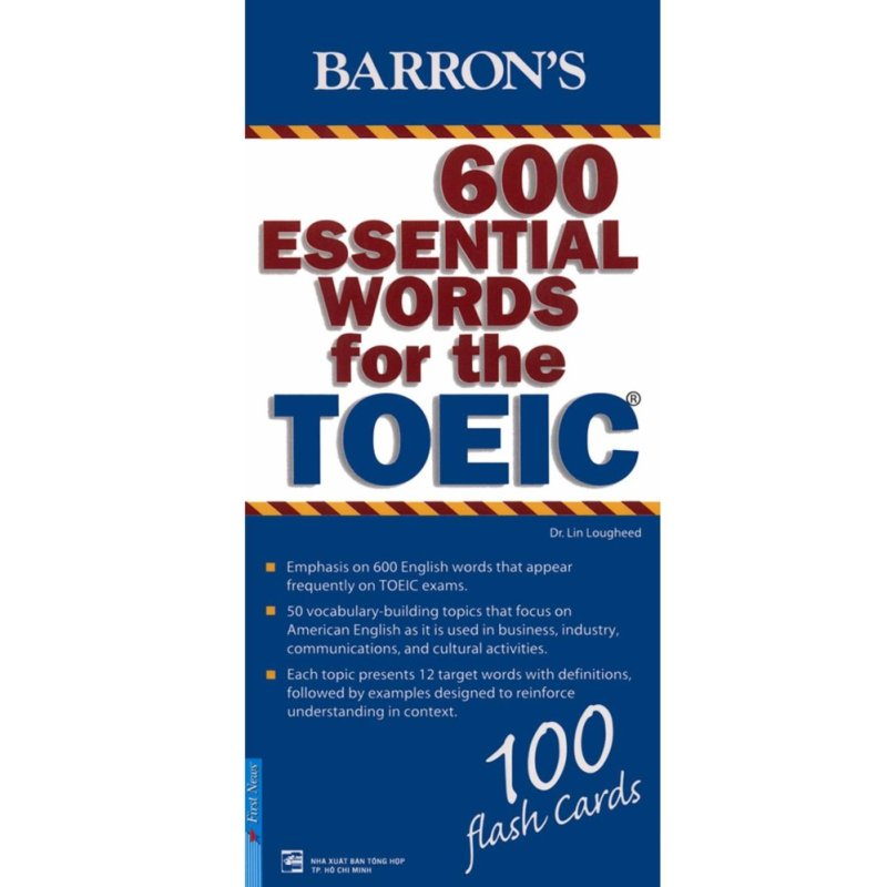 Mua Flashcard Barron's 600 Essential Words For The TOEIC