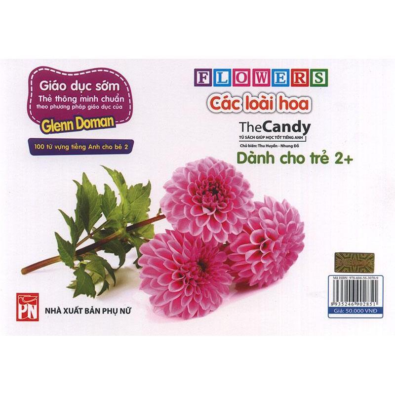 Mua Flashcard Flowers - Các loài hoa