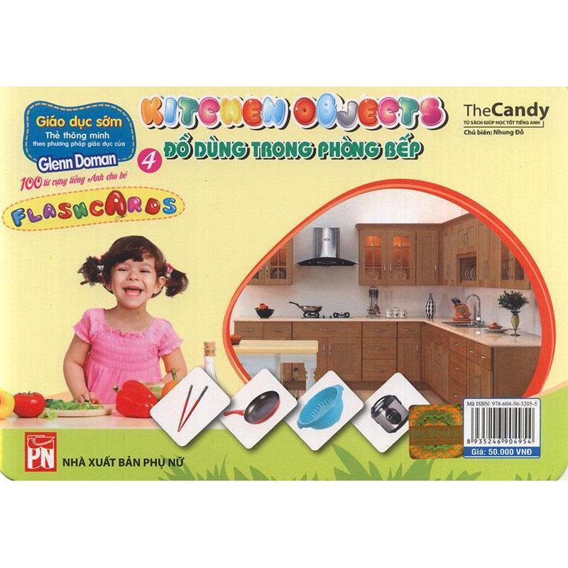 Mua Flashcard Kitchen Objects - Đồ dùng trong phòng bếp
