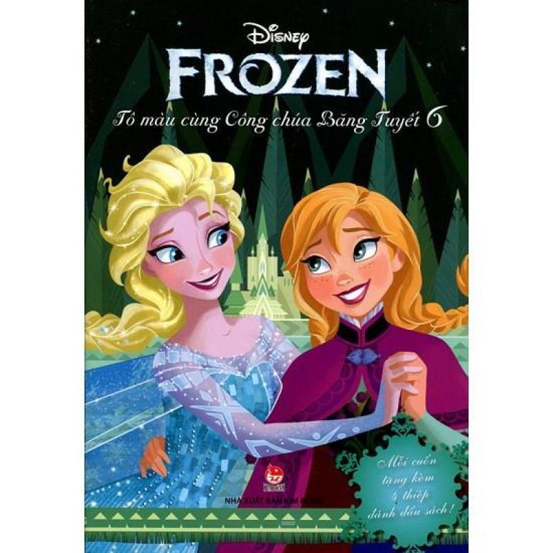 Mua Frozen - Tô màu cùng công chúa Băng Tuyết - Quyển 6