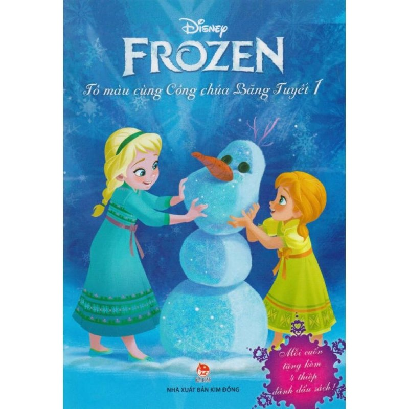 Mua Frozen - Tô Màu Cùng Công Chúa Băng Tuyết (Tập 1)