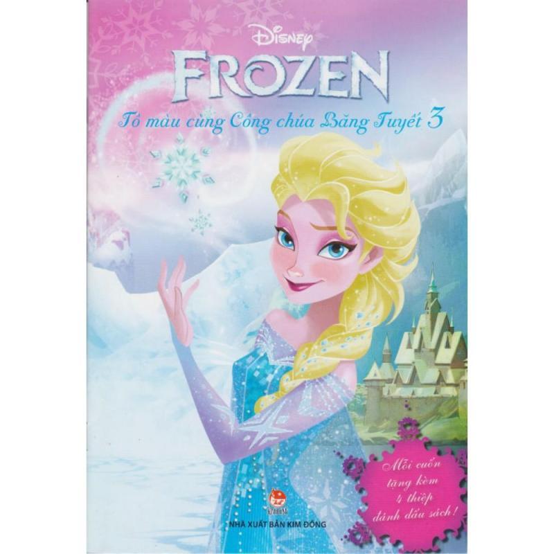 Mua Frozen - Tô Màu Cùng Công Chúa Băng Tuyết (Tập 3)