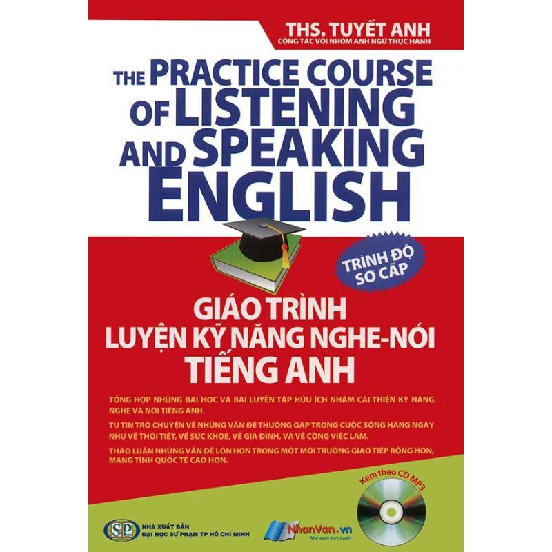 Mua Giáo trình luyện kỹ năng nghe - nói tiếng Anh - trình độ trung cấp (kèm CD)