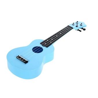 HLY 21-Inch High-Grade Teaching Guitar Ukulele Toys For Kid Childrengift (Blue) - intl
