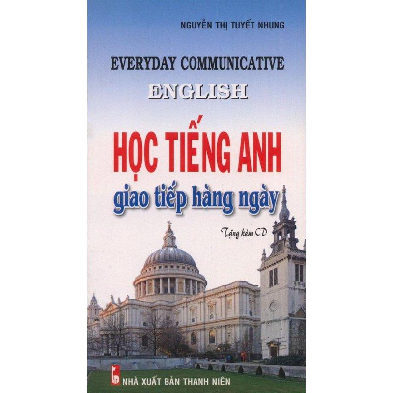 Mua Học tiếng Anh giao tiếp hàng ngày (kèm CD)