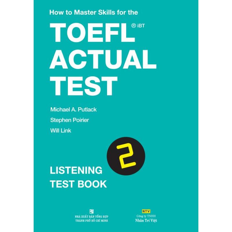 Mua How to Master Skills for the TOEFL iBT Actual Test: Listening Test Book 2