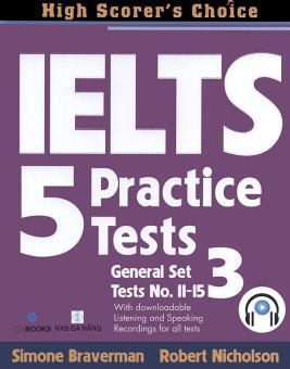 Ebook IELTS 5 Practice Tests - General Set 3 (kèm 1 CD) PDF