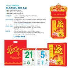 Mua Lịch Đại Việt Á - Siêu cực đại: Tranh hoa phong thủy