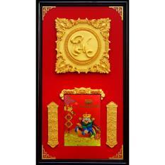 Mua Lịch khung gỗ treo tường Kim Phúc
