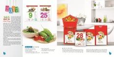 Mua Lịch Siêu đại: 365 món ăn dinh dưỡng