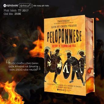 Lịch Sử Chiến Tranh Peloponnese - Thucydides - Alphabooks - 2017 - Tủ Sách Lịch Sử