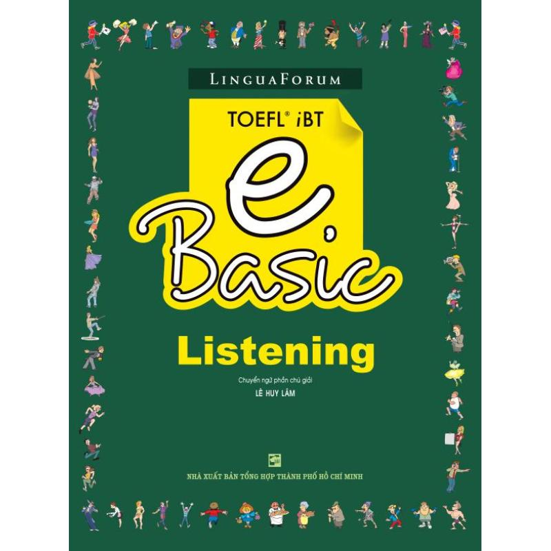 Mua LinguaForum TOEFL iBT e Basic - Listening