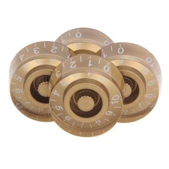 LP Guitar Knob Cap Acrylic Speed Control Knobs Volume Tone Buttons- intl - 4