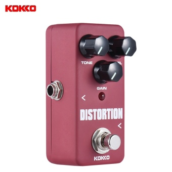 Media, Music Books Effects Pedals Kokko Fds2 Mini Distortion Pedal Portable Guitar Effect Pedal - intl