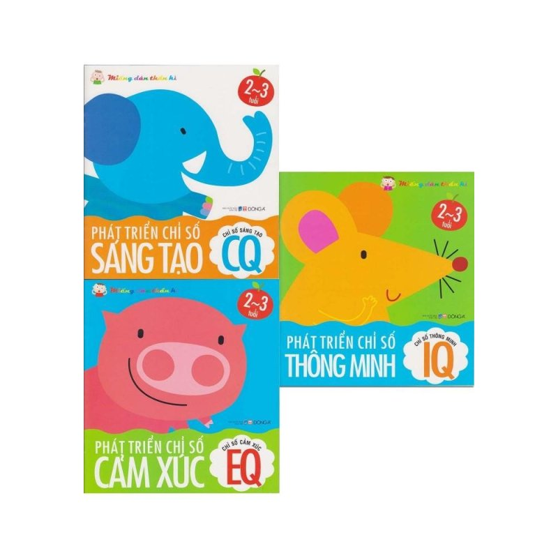 Mua Miếng Dán Thần Kì - Bộ 3 Tập (2-3 tuổi)