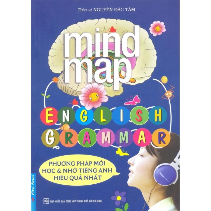 Mua Mind Map English Grammar - Tiến sĩ Nguyễn Đắc Tâm