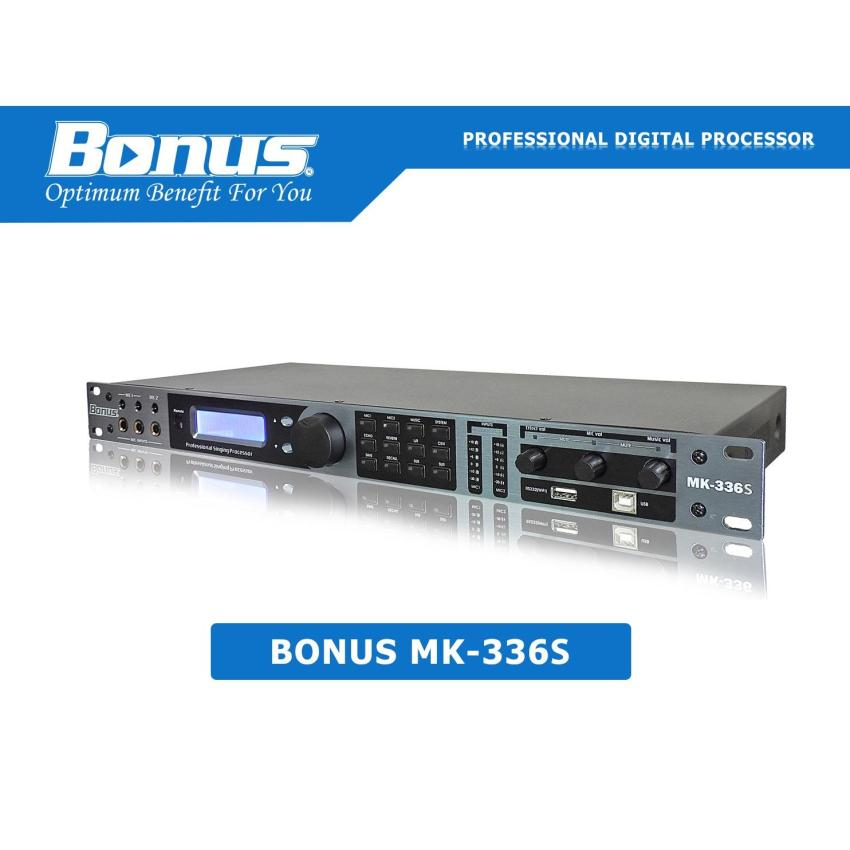 MIxer karaoke digital Bonus Audio MK-336S